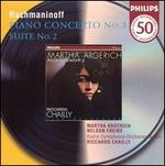 Rachmaninoff: Piano Concerto No. 3, Op. 30 / Suite No. 2 for Two Pianos ~ Argerich