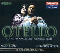 Verdi: Otello - Bonaventura Bottone (tenor); Charles Craig (tenor); Gordon Traynor (baritone); Malcolm Rivers (baritone);...