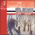 Shostakovich: 24 Preludes for violin & piano; Violin Sonata, Op. 134