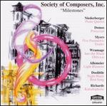 Society of Composers, Inc.: Milestones