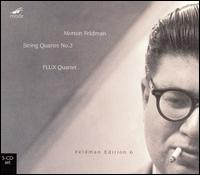 Morton Feldman: String Quartet No. 2 [Box Set] - FLUX Quartet