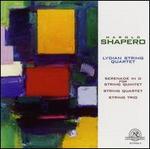 Harold Shapero-Chamber Music