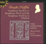 Joseph Haydn: Symphony No. 90 in C; Symphony No. 91 in E flat; Symphony No. 92 in G (Oxford)