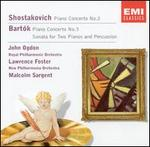 Shostakovich: Piano Concerto No. 2; Bart�k: Piano Concerto No. 3