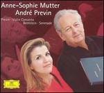 Previn: Violin Concerto; Bernstein: Serenade
