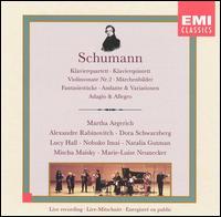 Schumann: Chamber Music - Alexandre Rabinovitch (piano); Dora Schwarzberg (violin); Lucia Hall (violin); Marie-Luise Neunecker (horn);...