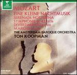 Mozart: Eine kleine Nachtmusik; Serenata Notturna; Symphonie No. 43; Divertimento; Marche