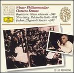 Beethoven: Missa solemnis; Stravinsky: Pulcinella Suite; Dukas: L'Apprenti Sorcier