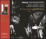 Hans Werner Henze: Die Bassariden