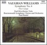 Vaughan Williams: Symphony No. 4; Flos Campi