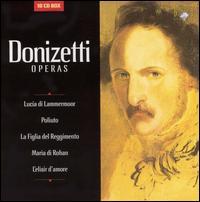 Donizetti: Operas (Box Set) - Adelina Scarabelli (vocals); Angelo Degl'Innocenti (vocals); Angelo Romero (vocals); Barbara Briscik (vocals);...