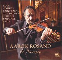 Aaron Rosand in Norway - Aaron Rosand (violin); Robert Levin (piano)