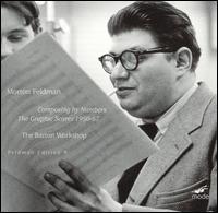 Morton Feldman: Composing by Numbers - The Graphic Scores, 1950-67 - Barton Workshop; Frank Denyer (piano); Marieke Keser (violin); Philip Corner (piano); Taco Kooistra (cello);...