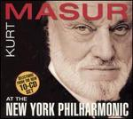 Kurt Masur at the New York Philharmonic [Selections]