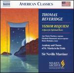 Thomas Beveridge: Yizkor Requiem