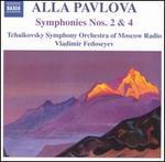 Alla Pavlova: Symphonies Nos 2 & 4