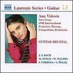 Ana Vidovic Guitar Recital