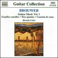 Leo Brouwer: Guitar Music, Vol. 1 - Ricardo Cobo (guitar)