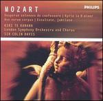 Mozart: Vesperae solennes de confessore; Kryrie in D minor; Ave verum corpus; Exsultate, jubilate