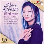 "Beethoven: Piano Sonatas No. 14 ""Moonlight"", No. 8 ""PathTtique"", No. 4 in E flat, Op. 7"