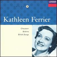 Kathleen Ferrier sings Chauson, Brahms, British Songs - Ernest Lush (piano); Kathleen Ferrier (contralto)