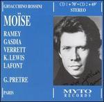 Rossini: Mo�se