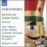 Stravinsky: Histoire du Soldat (Suite); Renard