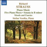 Richard Strauss: Piano Music - Stefan Veselka (piano)