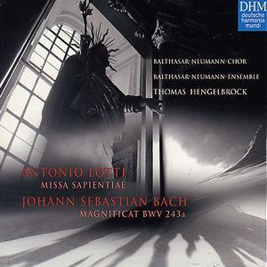 Lotti: Missa Sapientiae; J.S. Bach: Magnificat BWV 243a -