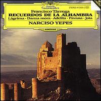 T�rrega: Recuerdos de la Alhambra - Narciso Yepes (guitar)