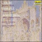 FaurT: Requiem, Op.48; DuruflT: Requiem, Op.9