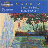 William Mathias: Santa Fe Suite - Elinor Bennett (harp)