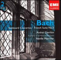 J. S. Bach: Keyboard Concertos; French Suite No. 5 - Andrei Gavrilov (piano); John Constable (harpsichord); Lenore Smith (flute); Susan Miller (flute);...