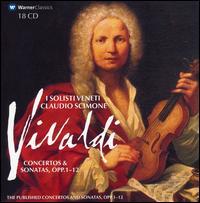 Vivaldi: Concertos & Sonatas, Opp. 1-12 - Bettina Mussumeli (violin); Edoardo Farina (harpsichord); Gianni Chiampan (cello); Giuliano Carmignola (violin);...