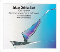 Johann Christian Bach: Complete Symphonies Concertantes - Angela East (cello); Anna McDonald (violin); Anthony Halstead (fortepiano); Anthony Robson (oboe); Colin Lawson (clarinet);...
