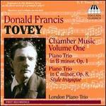 Donald Francis Tovey: Chamber Music, Vol. 1