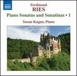 Ferdinand Ries: Piano Sonatas and Sonatinas, Vol. 1