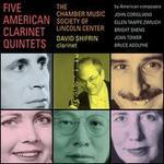 Five American Clarinet Quintets