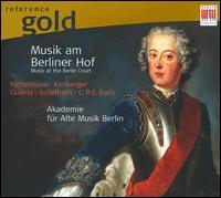 Musik am Berliner Hof - Akademie f�r Alte Musik, Berlin; Christine Schornsheim (harpsichord); Raphael Alpermann (harpsichord)