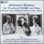 Brahms Two Sonatas for Clarinet and Piano