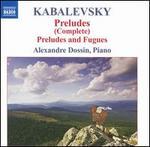 Kabalevsky: Preludes (Complete)