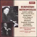Rubinstein & Mitropoulos: New York, 1953