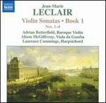 Leclair: Violin Sonatas-Book 1: Nos. 1-4