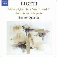 Ligeti: String Quartets Nos. 1 & 2 - Parker Quartet