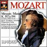 Mozart: Messen K. 192 & 194