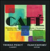 Cafe - Thomas Piercy (clarinet); Vilian Ivantchev (guitar)