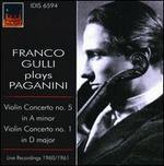 Franco Gulli plays Paganini