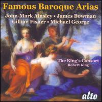 Famous Baroque Arias - Crispian Steele-Perkins (trumpet); Gillian Fisher (soprano); James Bowman (counter tenor); John Mark Ainsley (tenor);...