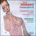 Dohn�nyi: String Quartets Nos. 1 & 3; Ruralia Hungarica