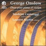 George Onslow: Duos pour Piano et Violon